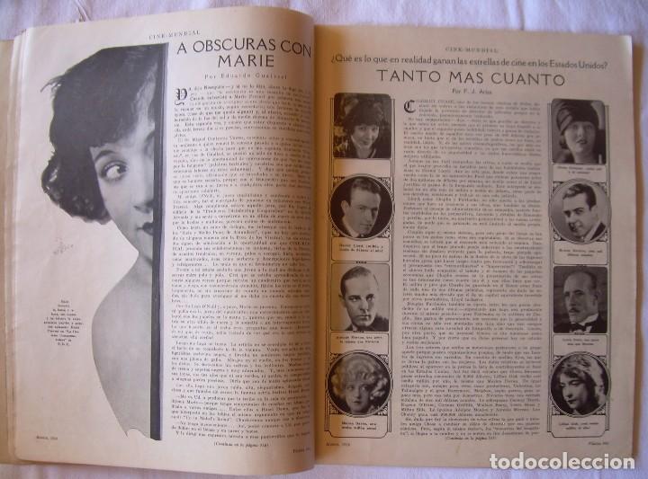 Cine: REVISTA CINE MUNDIAL,AGOSTO 1926, VOL.XI Nº 8 EDITADA POR Chalmers Publishing Company, Nueva York - Foto 5 - 81885644