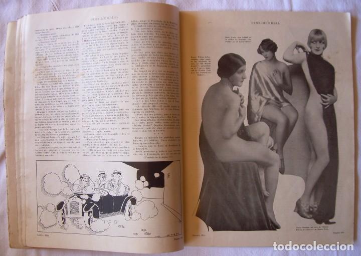 Cine: REVISTA CINE MUNDIAL,AGOSTO 1926, VOL.XI Nº 8 EDITADA POR Chalmers Publishing Company, Nueva York - Foto 6 - 81885644