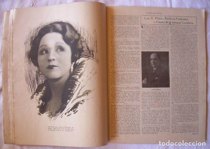 Cine: REVISTA CINE MUNDIAL,AGOSTO 1926, VOL.XI Nº 8 EDITADA POR Chalmers Publishing Company, Nueva York - Foto 7 - 81885644