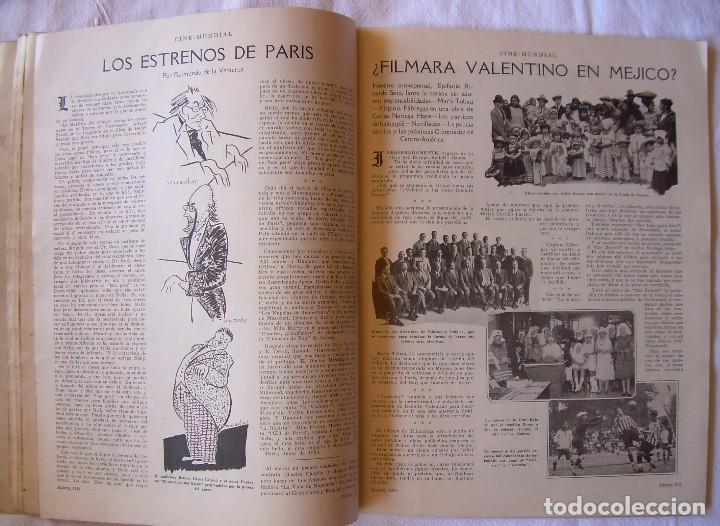 Cine: REVISTA CINE MUNDIAL,AGOSTO 1926, VOL.XI Nº 8 EDITADA POR Chalmers Publishing Company, Nueva York - Foto 8 - 81885644