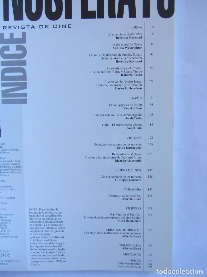 Cine: Revista de Cine Nosferatu 36-37 Nuevas miradas del cine asiatico. Agosto 2001 - Foto 7 - 82337716