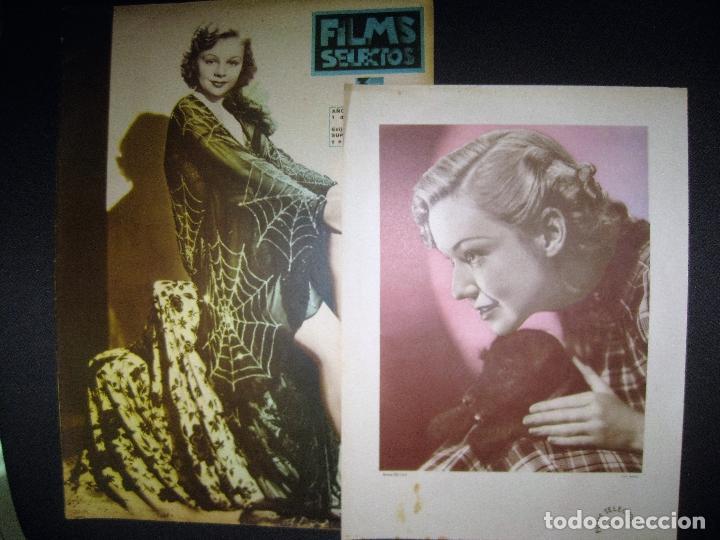 Cine: FILMS SELECTOS Nº 241. 1 JUNIO 1935.RAQUEL MELLER. SUPLEMENTO ARTISTICO ANNE SHIRLEY. - Foto 2 - 42165061