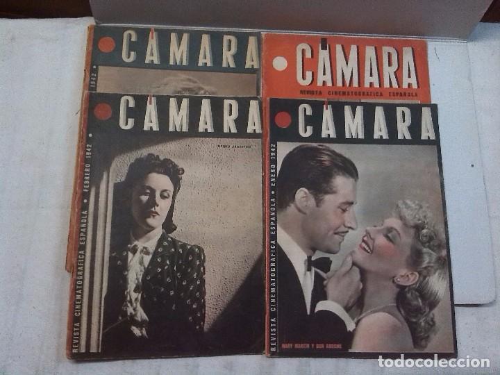 CÁMARA. REVISTA CINEMATOGRAFICA ESPAÑOLA, NÚMEROS 2, 4, 5 Y 6 (1941 Y 1942) (Cine - Revistas - Cámara)