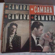 Cine: CÁMARA. REVISTA CINEMATOGRAFICA ESPAÑOLA, NÚMEROS 2, 4, 5 Y 6 (1941 Y 1942). Lote 82411248