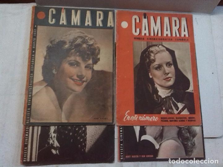 Cine: Cámara. Revista cinematografica española, números 2, 4, 5 y 6 (1941 y 1942) - Foto 2 - 82411248