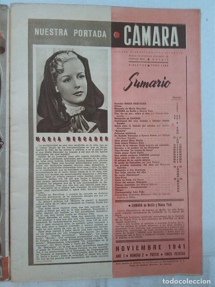 Cine: Cámara. Revista cinematografica española, números 2, 4, 5 y 6 (1941 y 1942) - Foto 5 - 82411248