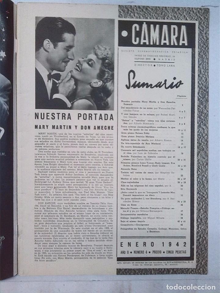Cine: Cámara. Revista cinematografica española, números 2, 4, 5 y 6 (1941 y 1942) - Foto 7 - 82411248