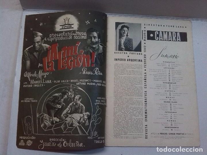 Cine: Cámara. Revista cinematografica española, números 2, 4, 5 y 6 (1941 y 1942) - Foto 9 - 82411248