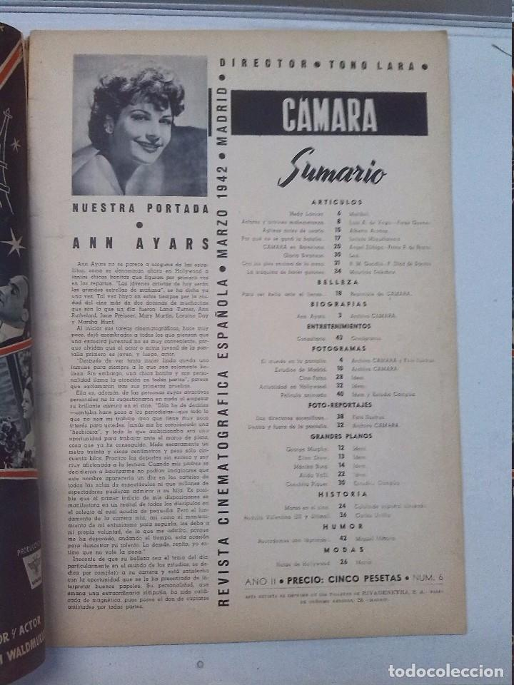 Cine: Cámara. Revista cinematografica española, números 2, 4, 5 y 6 (1941 y 1942) - Foto 11 - 82411248