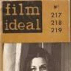 Cine: FILM IDEAL Nº 217, 218 Y 219 (ESPECIAL FESTIVALES INTERNACIONALES). Lote 82735600