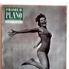 Cine: PRIMER PLANO 21/SEPTIEMBRE/1962 (PORTADA JUNE COOPER - REPORTAJE SARA MONTIEL ). Lote 82979960