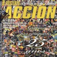 Cine: ACCION N. 1704 ABRIL 2017 - EN PORTADA: 25 AÑOS DE CINE CON NOSOTROS (NUEVA). Lote 83005364
