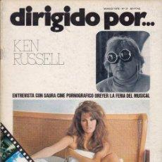 Cine: DIRIGIDO POR Nº 31 REVISTA CINEMATOGRAFICA - DE CINE KEN RUSSELL. Lote 83141504