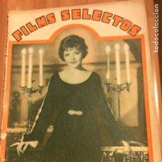 Cine: REVISTA FILMS SELECTOS 4 FEBRERO 1933. Lote 83267570