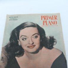 Cine: REVISTA PRIMER PLANO DE CINEMATOGRAFIA, Nº 589, 1952 BETTE DAVIS, EVA AL DESNUDO. Lote 83370588