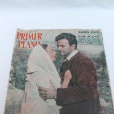 Cine: REVISTA PRIMER PLANO DE CINEMATOGRAFIA, Nº 711, 1954, RUBEN ROJO Y LINA ROSALES EN SIERRA MALDITA. Lote 83425996