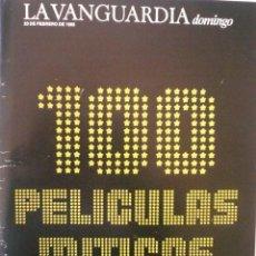 Cine: COLECCIONABLE LA VANGUARDIA / 100 PELÍCULAS MITICAS (TODOS LOS FASCÍCULOS). Lote 83552404