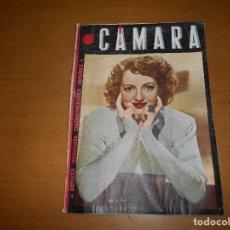 Cine: CAMARA. REVISTA CINEMATOGRÁFICA. 5 PTS. Nº 60 54 1 ABRIL 1945 EVELIN KEYES ANA MARISCAL JOSITA HERNA. Lote 83592904