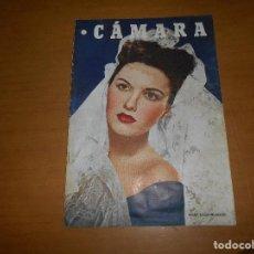 Cine: CAMARA. REVISTA CINEMATOGRÁFICA. 5 PTS. Nº 127 15 ABRIL 1948 MARY ELLEN GLEASON CAROL MARSH. Lote 83593568