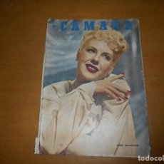 Cine: CAMARA. REVISTA CINEMATOGRÁFICA. 5 PTS. Nº 109 15 JULIO 1947 MARIE MACDONALD T. POWER A. RIVELLES. Lote 83594632