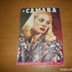 Cine: CAMARA. REVISTA CINEMATOGRÁFICA. 5 PTS. Nº 48 1 ENERO 1945 NUMERO EXTRAORDINARIO SYLVIA MORGAN. Lote 83595052
