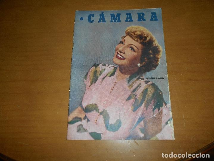 CAMARA REVISTA CINEMATOGRÁFICA 5 PTS. Nº 159 15 AGOSTO 1949 CLAUDETTE COLBERT J. DE ORDUÑA J. PETERS (Cine - Revistas - Cámara)