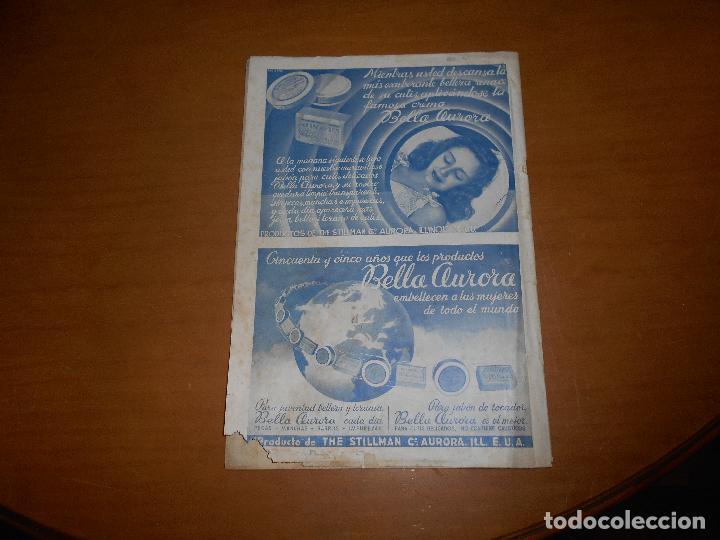 Cine: CAMARA REVISTA CINEMATOGRÁFICA 5 PTS. Nº 159 15 AGOSTO 1949 CLAUDETTE COLBERT J. DE ORDUÑA J. PETERS - Foto 5 - 83597432