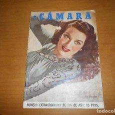 Cine: CAMARA REVISTA CINEMATOGRÁFICA 10 PTS Nº 94 95 1946 DIC. EXTRAORDINARIO LARAIN DAY MANUEL KAYSER. Lote 83598028