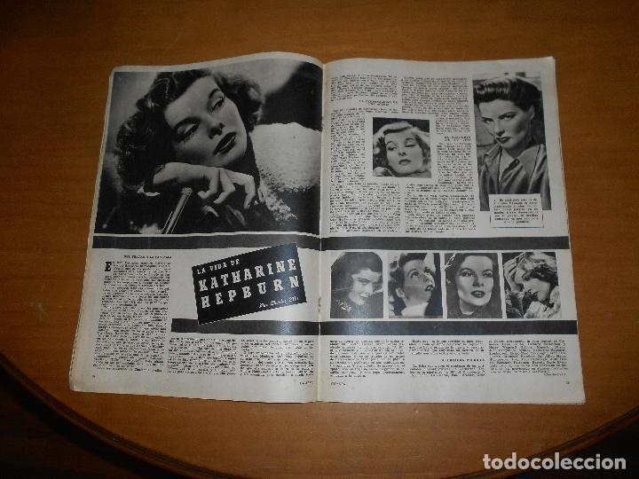 Cine: CAMARA REVISTA CINEMATOGRÁFICA 10 PTS Nº 94 95 1946 DIC. EXTRAORDINARIO LARAIN DAY MANUEL KAYSER - Foto 4 - 83598028