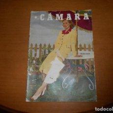 Cine: CAMARA REVISTA CINEMATOGRÁFICA 10 PTS Nº 180 1 JULIO 1950 VIRGINIA MAYO MARIA FELIX G. GRIN. Lote 83598576