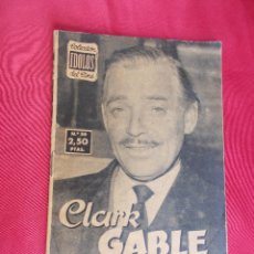 Cine: CLARK GABLE . IDOLOS DEL CINE. Nº 56.. Lote 83737368