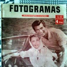Cine: FOTOGRAMAS N° 471 6/DIC/1957 SARA MONTIEL,JACQUELINE SASSAR,DIANA DOORS,AVA GARDEN. Lote 83842203