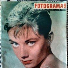 Cine: FOTOGRAMAS N°570 30/10/1959 SARA MONTIEL,DANY KAYE,ANITA EKBERG,JOSELITO. Lote 83845191