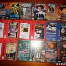 Cine: LOTE DE 30 CARÁTULAS DE VÍDEO PROMOCIONALES (SOHO VIDEO) CARÁTULA VHS Y BETA. Lote 83862036