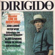 Cine: DIRIGIDO POR Nº 126 REVISTA CINEMATOGRAFICA - DE CINE. Lote 83926612