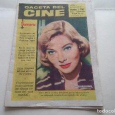 Cine: REVISTA - GACETA DEL CINE - ORGINAL AÑO 1960 - AÑO 1 NUMERO 2. Lote 84051008