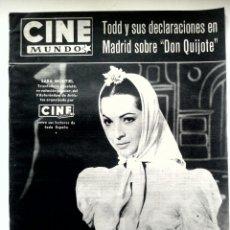 Cine: CINE MUNDO N°311 3/1958 •SARA MONTIEL,LIZ TAYLOR,DORIS DAY•. Lote 84638996