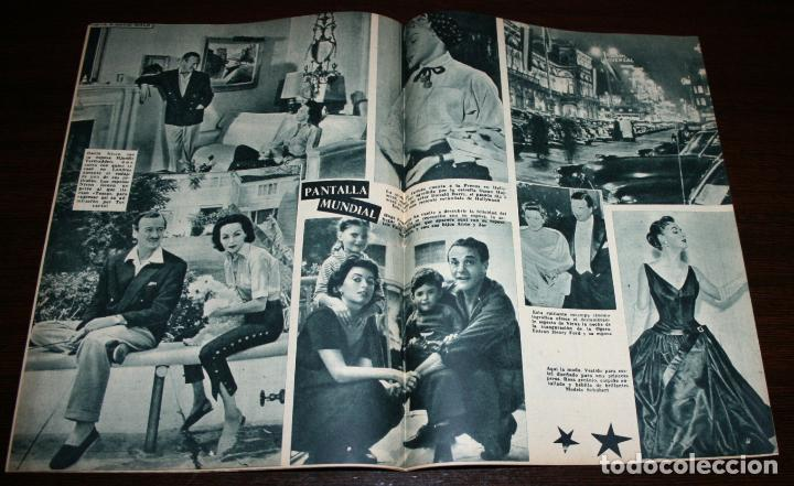 Cine: RADIOCINEMA Nº 278 - 19-XI-1955 - PORTADA: PAQUITA RICO - CONTRA: LUCILLE BALL, JAMES MASON - Foto 3 - 84668236