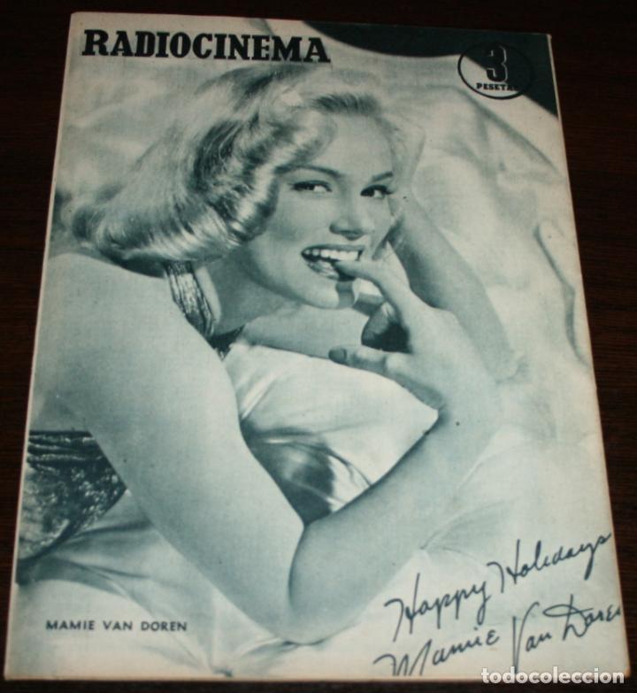 Cine: RADIOCINEMA Nº 277 - 12-XI-1955 - PORTADA: SUSANA CANALES, GEORGES MARCHAL - CONTRA: MAMIE VAN DOREN - Foto 2 - 84668336