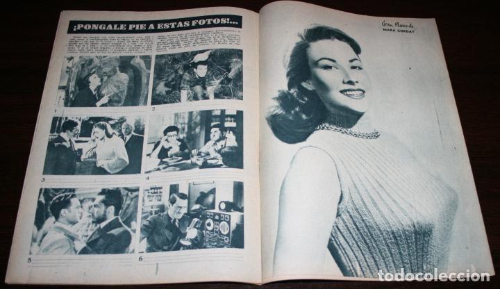 Cine: RADIOCINEMA Nº 277 - 12-XI-1955 - PORTADA: SUSANA CANALES, GEORGES MARCHAL - CONTRA: MAMIE VAN DOREN - Foto 3 - 84668336