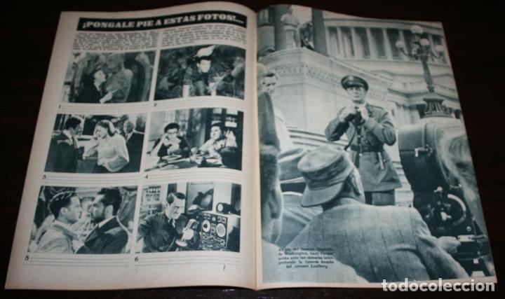 Cine: RADIOCINEMA Nº 276 - 5-XI-1955 - PORTADA: GUSTAVO ROJO - CONTRA: JOSÉ ISBERT, JULITA MARTINEZ - Foto 3 - 84668428