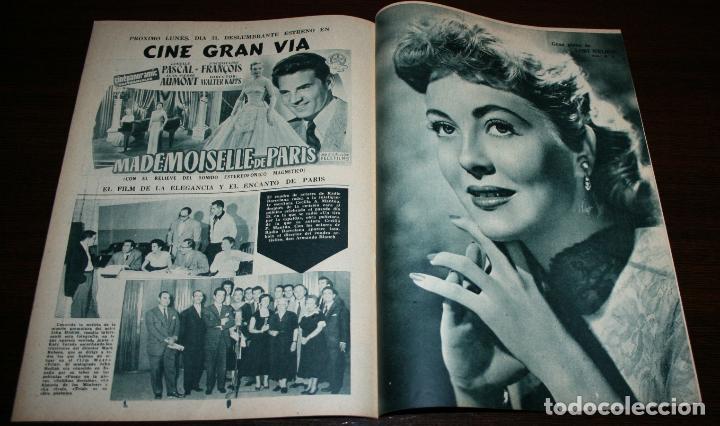 Cine: RADIOCINEMA Nº 275 - 29-X-1955 - PORTADA: FRANCISCO RABAL - CONTRA: MYRNA HANSEN - Foto 3 - 84668612