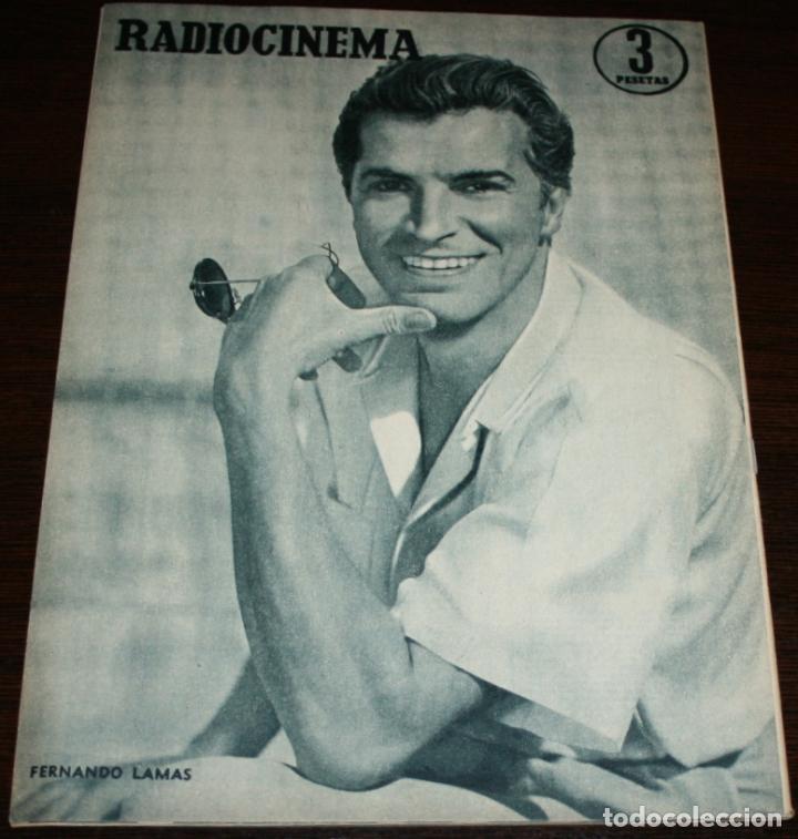 Cine: RADIOCINEMA Nº 272 - 8-X-1955 - PORTADA: COLEEN MILLER - CONTRA: FERNANDO LAMAS - Foto 2 - 84668848
