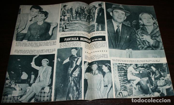 Cine: RADIOCINEMA Nº 272 - 8-X-1955 - PORTADA: COLEEN MILLER - CONTRA: FERNANDO LAMAS - Foto 3 - 84668848