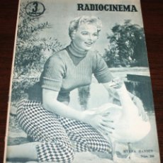 Cine: RADIOCINEMA Nº 269 - 17-IX-1955 - PORTADA: MYRNA HANSEN - CONTRA: DEBBIE REYNOLDS. Lote 84669036