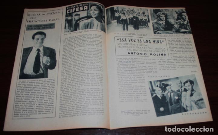 Cine: RADIOCINEMA Nº 264 - 13-VIII-1955 - PORTADA: ANDREA KING - CONTRA: VAN JOHNSON - Foto 3 - 84669424