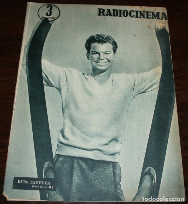 RADIOCINEMA Nº 263 - 6-VIII-1955 - PORTADA: RUSS TAMBLYN - CONTRA: MAMIE VAN DOREN (Cine - Revistas - Radiocinema)