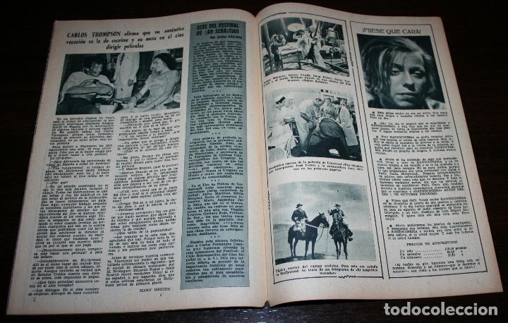 Cine: RADIOCINEMA Nº 263 - 6-VIII-1955 - PORTADA: RUSS TAMBLYN - CONTRA: MAMIE VAN DOREN - Foto 3 - 84669464