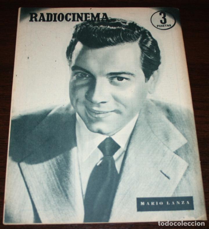 Cine: RADIOCINEMA Nº 261 - 23-VII-1955 - PORTADA: ELEANOR PARKER - CONTRA: MARIO LANZA - Foto 2 - 84669524