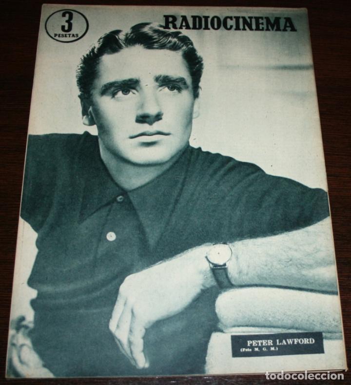Cine: RADIOCINEMA Nº 260 - 16-VII-1955 - PORTADA: BARBARA RUSH - CONTRA: PETER LAWFORD - Foto 2 - 84669576